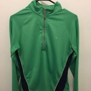 Athletic Works Zip Up Top - Size M